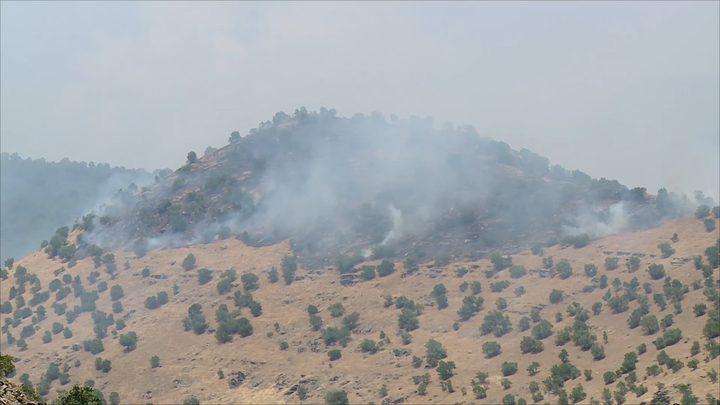 مسؤولون: القصف الإيراني على مناطق في كردستان أسقط مدنيين
