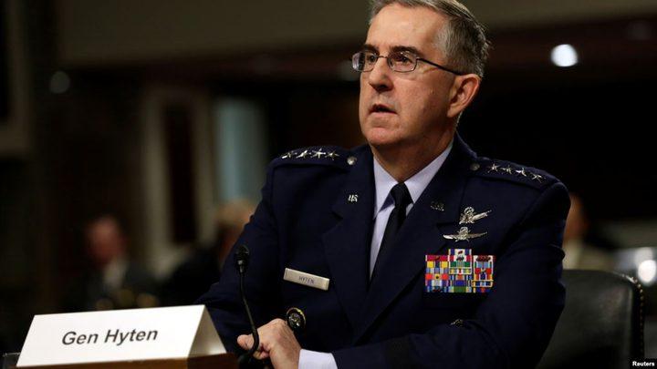 ضابطة تتهم جنرالا أميركيا مرشحا لمنصب قيادي بالتحرش