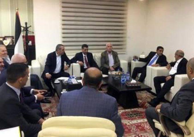 """وفد من جهاز المخابرات المصرية العامة يلتقي أعضاء من مركزية """"فتح"""""""