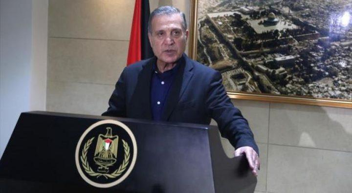 أبو ردينة :مستعدون لاستئناف الاتصالات مع واشنطن  بشروط