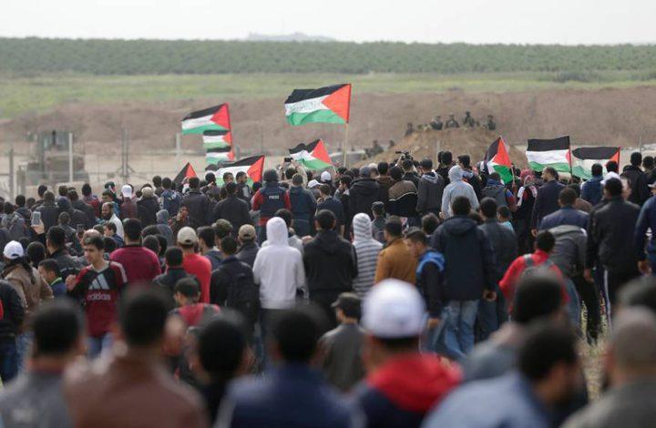 """غزة تحشد للجمعة الـ""""66"""" من مسيرات العودة وفك الحصار"""