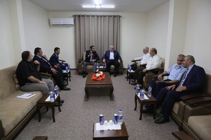 هذا ما بحثته حركة حماس مع الوفد الأمني المصري بغزة