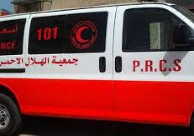 إصابة 4 مواطنين في حادث سير بخانيونس جنوب قطاع غزة