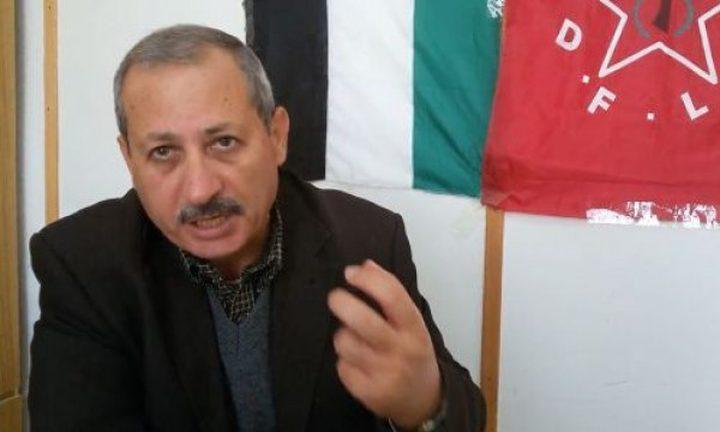 قيادي بالديمقراطية يكشف للنجاح مباحثات الوفد المصري مع الفصائل