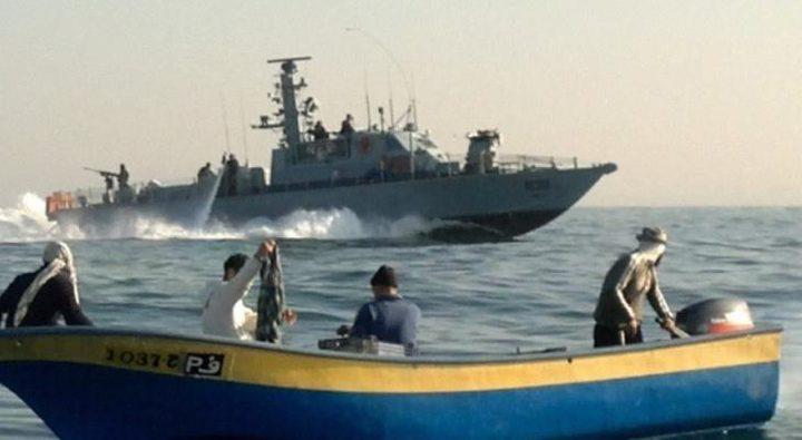 البحرية الاسرائيلية تعتقل صيادين شقيقين جنوب قطاع غزة