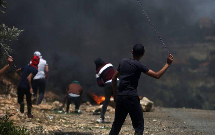 إصابة فتى بمواجهات مع قوات الاحتلال بكفر قدوم