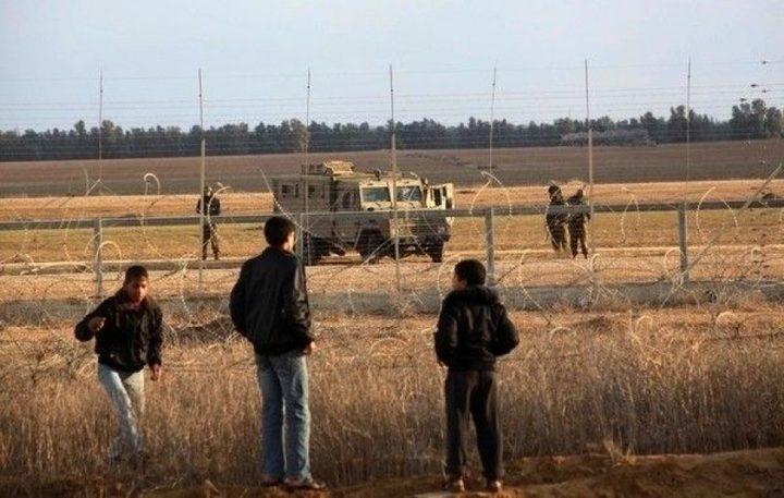 اعتقال شاب على حدود قطاع غزة