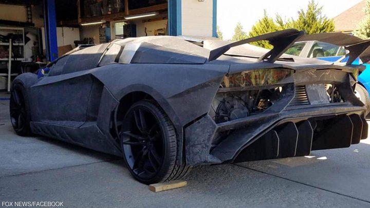 أستاذ جامعي يبتكر سيارة لامبورغيني بتكلفة 20 ألف دولار فقط