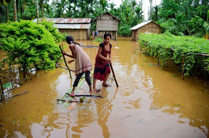 عشرات الضحايا جراء أمطار غزيرة في نيبال والهند