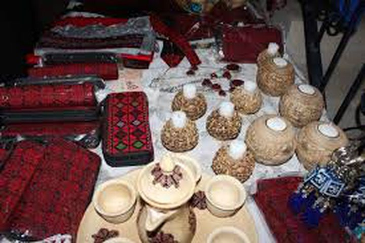 بازار نابلس في مركز العالم الثقافي