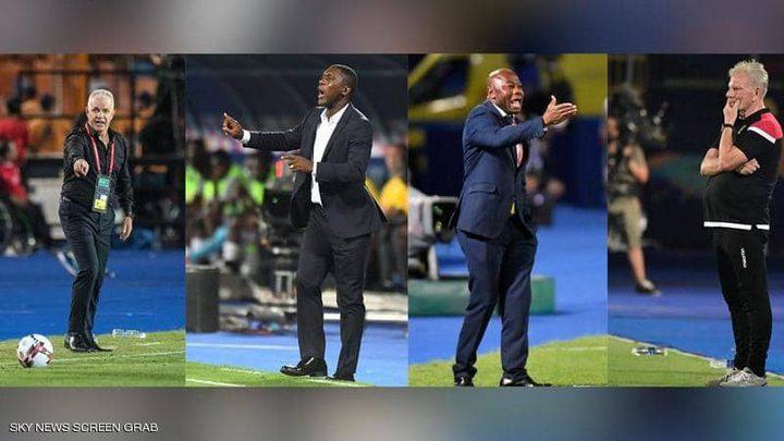 """أمم أفريقيا 2019.. كيف تحولت البطولة إلى """"مقصلة"""" للمدربين؟"""