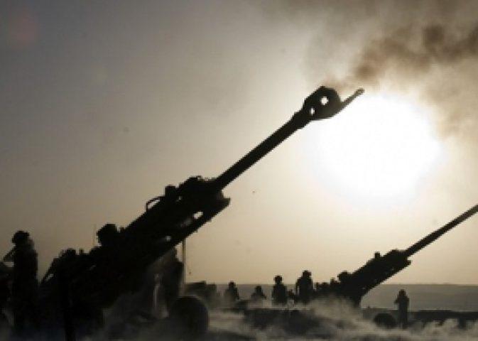تدريب مدفعي لقوات الاحتلال قرب غزة خلال ساعات