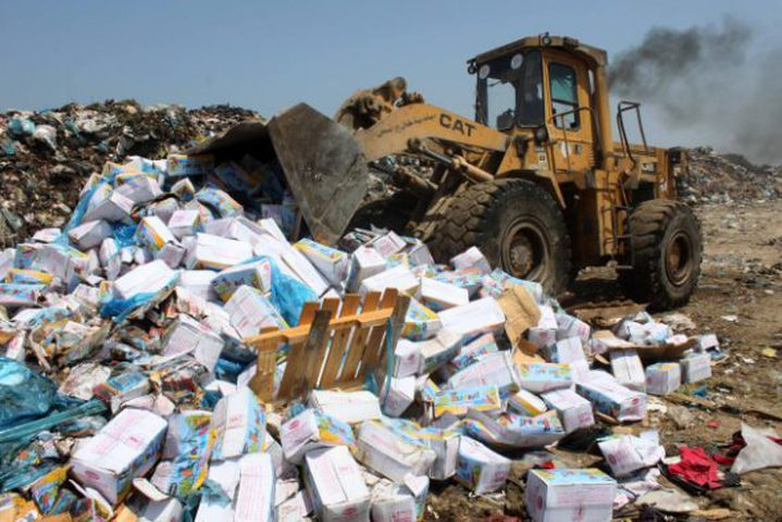 انطلاق الحملة الوطنية للتوعية البيئية في نابلس