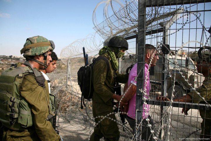 الاحتلال يعتقل فلسطيني شمال قطاع غزة