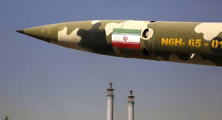 """إيران تؤكد رفض التفاوض بشأن برنامجها الصاروخي: """"خطّ أحمر"""""""