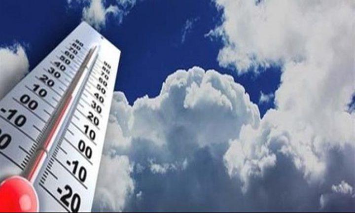 انخفاض على درجات الحرارة حتى السبت