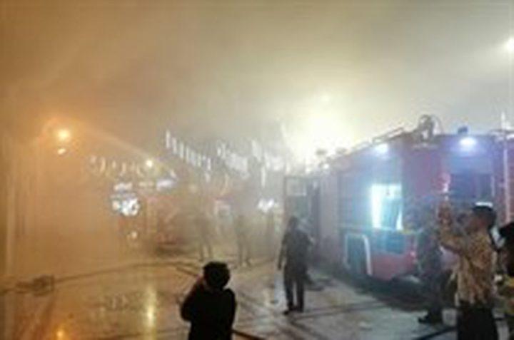 حريق يلتهم المسجد الحسيني التاريخي في الأردن