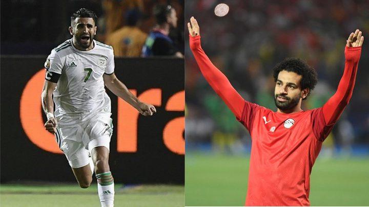 """التويتر يشتعل بين عشاق صلاح ومحرز على لقب """"فخر العرب الحقيقي"""""""