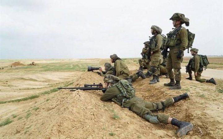 الاحتلال يطلق النار تجاه مرصد للمقاومة بغزة