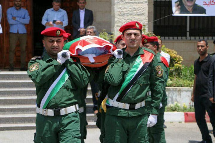 وصول جثمان اللواء جمال كايد إلى غزة عبر معبر بيت حانون