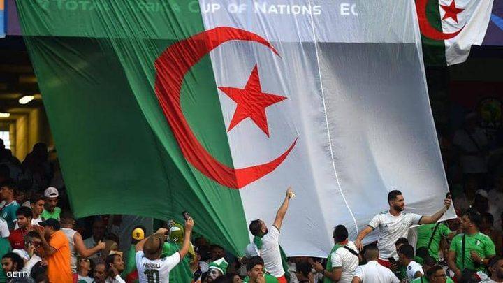 تقدم منتخب الجزائر بهدف على السنغال