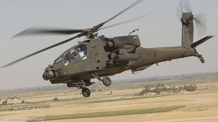 مصرع 20 مسلحاً في قصف جوي نفذه الطيران المصري في سيناء