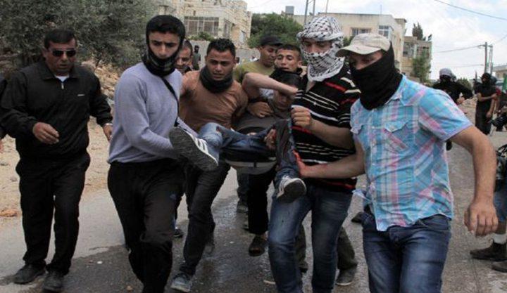 إصابة 22 مواطنا برصاص الاحتلال في كفر قدوم