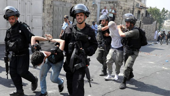 900 حالة اعتقال بالقدس خلال النصف الأول من العام