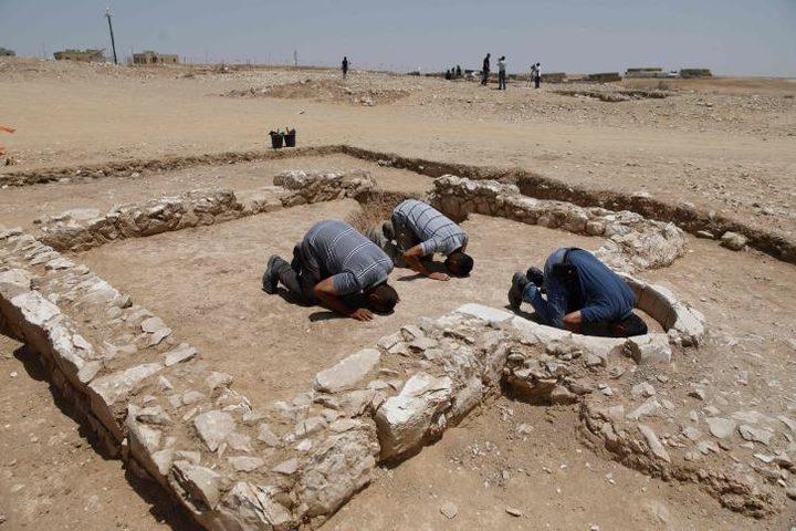 اكتشاف بقايا مسجد عمره 1200 عام في صحراء النقب