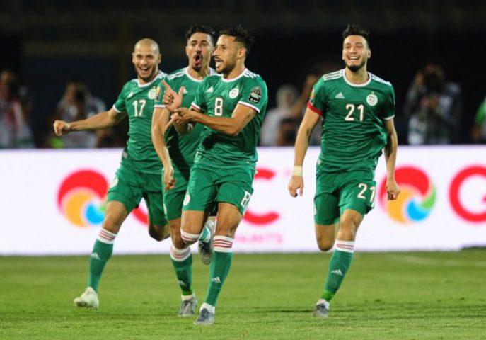 الجزائر تقصف السنغال بهدف صاروخي وتفوز بأمم أفريقيا