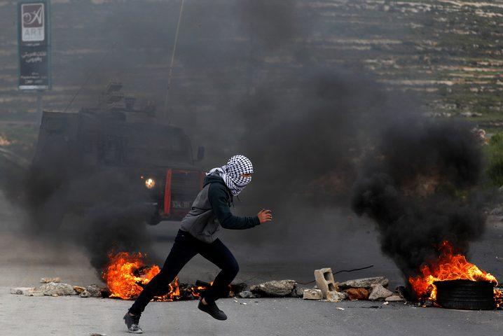 إصابة صحفية وعدد من المواطنين بقمع الاحتلال فعالية وادي الحمص