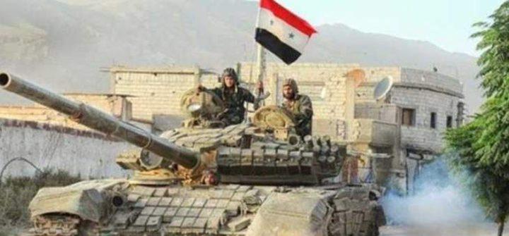 سانا: الجيش السوري دمر منصات إطلاق صواريخ