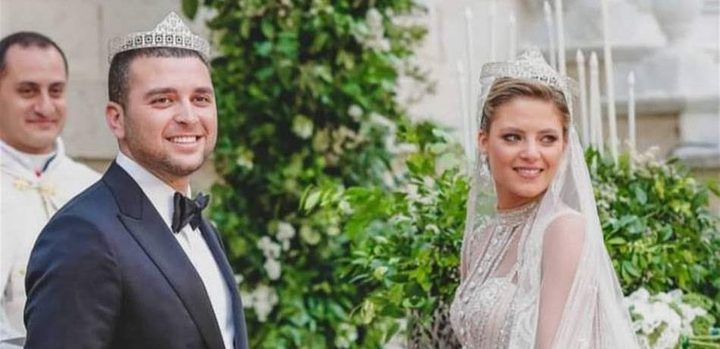 """زفاف إيلي جونيور صعب وكريستينا مراد """"العروس كالأميرات"""""""