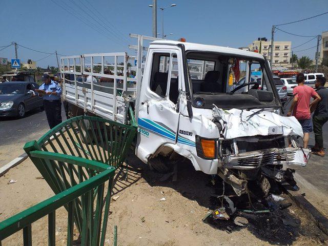 إصابات في حادث مروري جنوب قطاع غزة