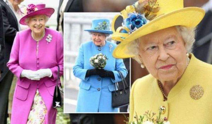 الملكة إليزابيث ملكة الألوان