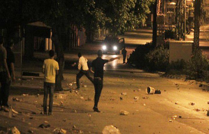 اعتقالات واصابات خلال مواجهات في العيساوية شرقي القدس
