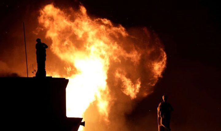 """اندلاع حريق على متن مركبة فضائية تابعة لـ """"سبيس إكس"""""""