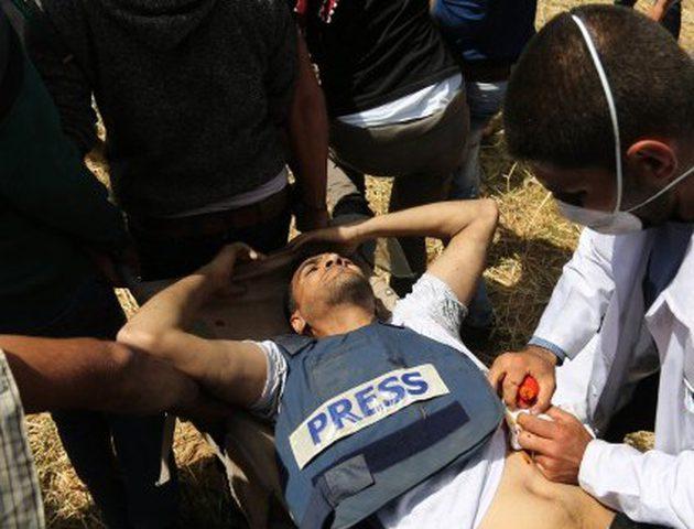 """""""مدى"""" يستنكر اعتداءات الاحتلال المتواصلة على الصحفيين في فلسطين"""