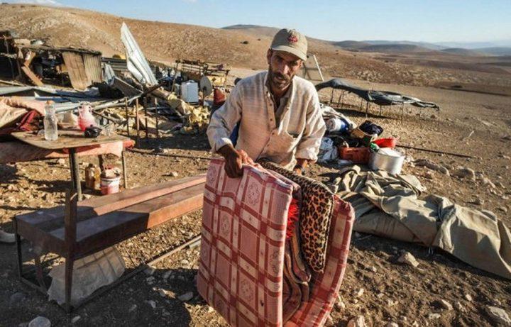 الاحتلال يهدم بركسات ويستولي على خيام بالأغوار الشمالية
