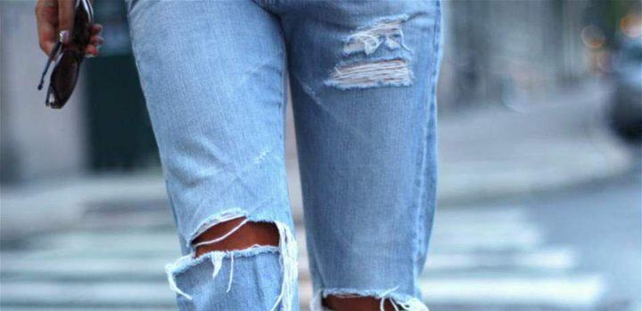 تجنبي ارتداء الجينز الممزق صيفاً