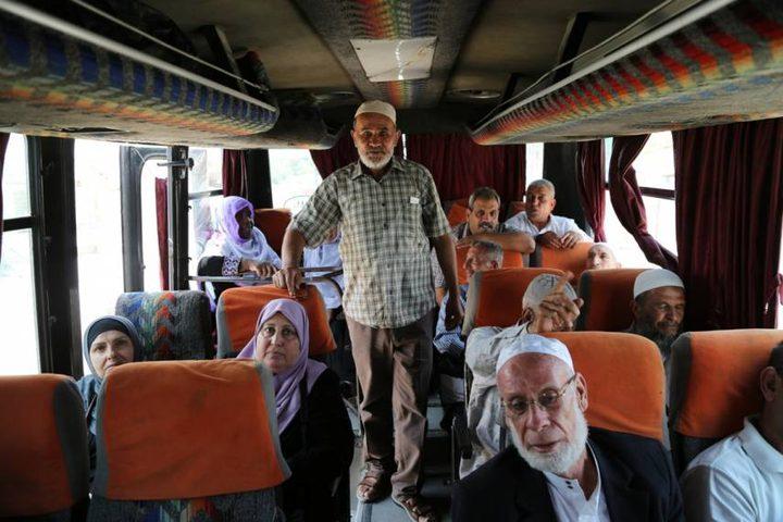 48 من أهالي أسرى غزة يزورن 25 أسيرًا