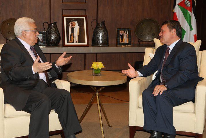 لقاء هام بين الرئيس عباس وملك الأردن لبحث آخر التطورات السياسية