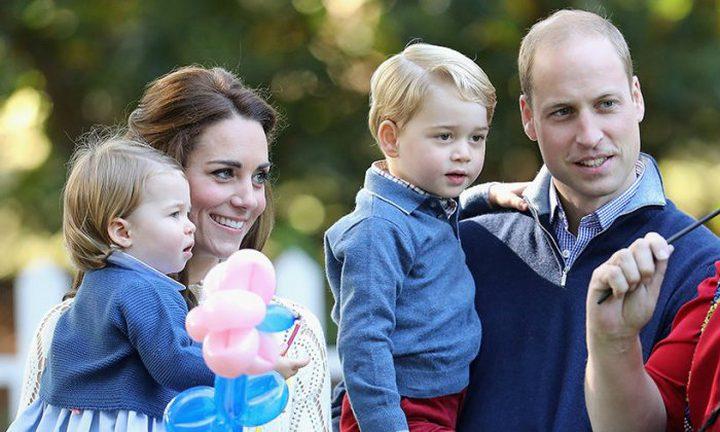 كيت ميدلتون تحتفل بميلاد الأمير جورج