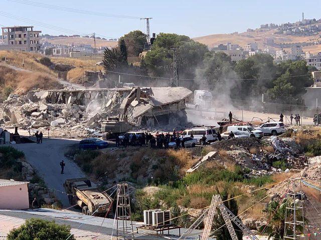 الاتحاد البرلماني العربي يدين جريمة الهدم في واد الحمص