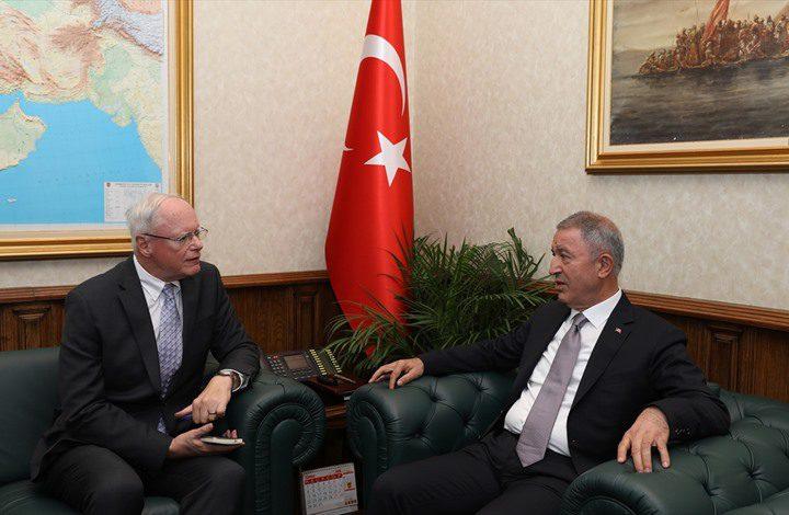 لقاء تركي أمريكي لمناقشة إنشاء منطقة آمنة بسوريا