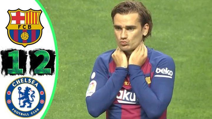 تشيلسي يفسد على جريزمان افتتاحيته مع برشلونة