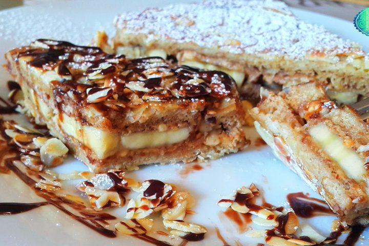 حلوى الخبز الفرنسي بالقرفة