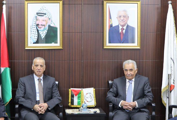 أبو شرار يبحث مع الائتلاف الأهلي لإصلاح القضاء تعزيز التعاون