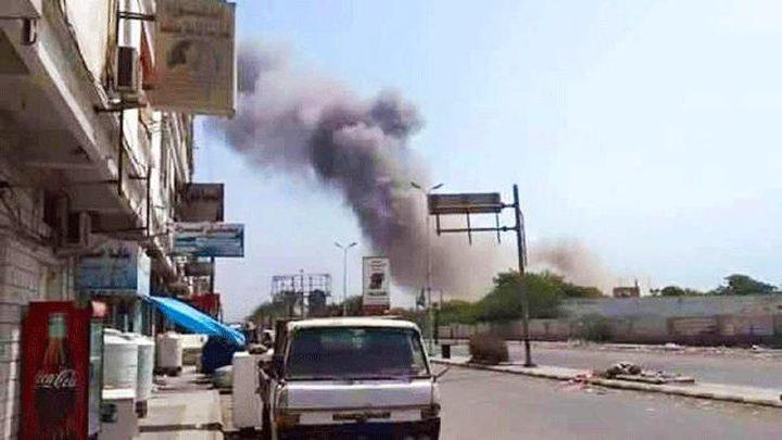 قصف صاروخي للحوثيين يستهدف مقر الفريق الحكومي