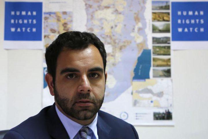 القضاء الإسرائيلي يقرر غدًا مصير عمر شاكر